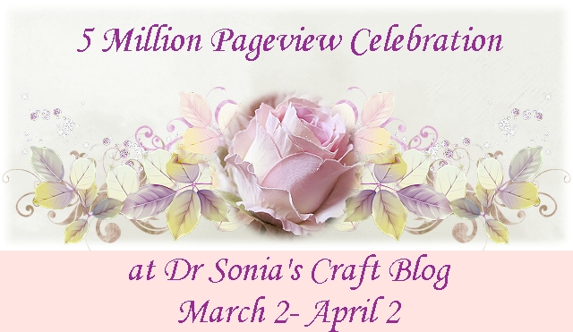 Dr sonia giveaway (heartfelt creations)