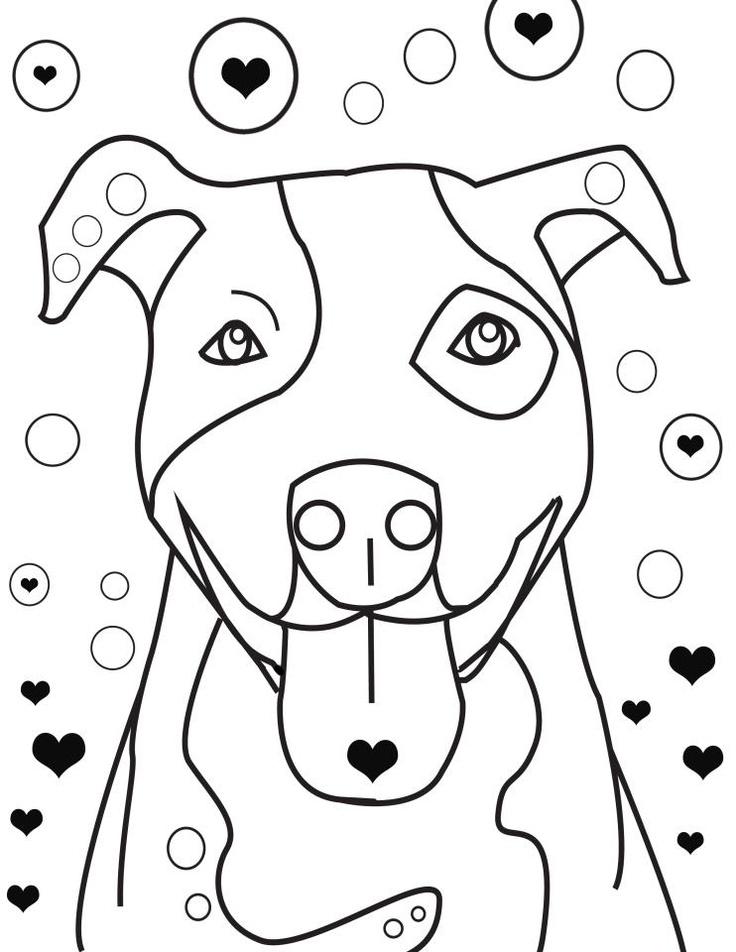 Kleurplaten Hond En Puppy.Kleurplaten Dieren Hond Kleurplaat Dieren Honden Tekening