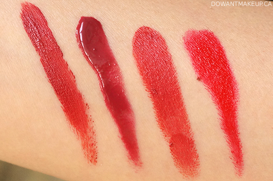 Lise Watier Féline Lip Lacquer in Rouge swatches