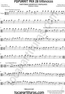 Viola Partitura Mix 2 Sheet Music for Viola Music Score