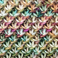 Featured Knitting Stitch. The Daisy flowrer stitch is a very easy stitch pattern! It looks complicated but isn't.
