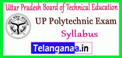 UPBTE Uttar Pradesh Board of Technical Education Syllabus