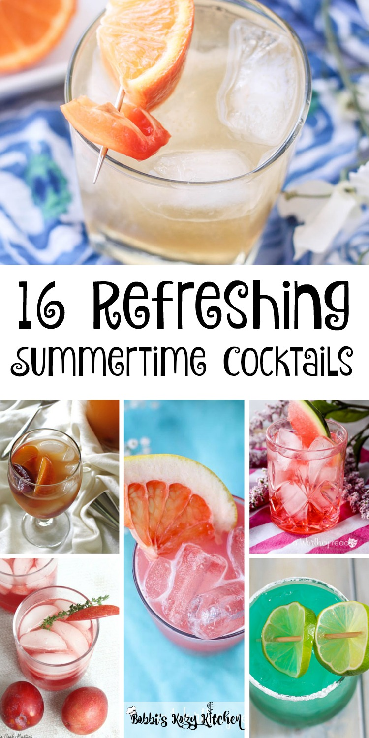 16 Refreshing Summertime Cocktails