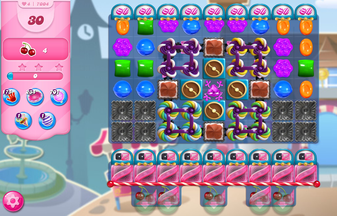 Candy Crush Saga level 7004