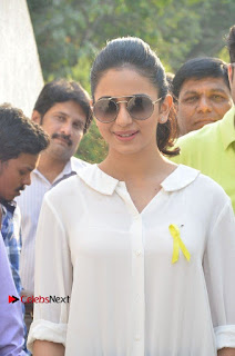 Actress Rakul Preet Singh at Endometriosis Awareness Walk at Apollo Cradle  0012.jpg