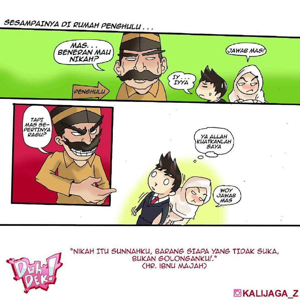 Masih Ingat Meme Kartun Ngajak Nikah Di KUA Ini Lihat Versi