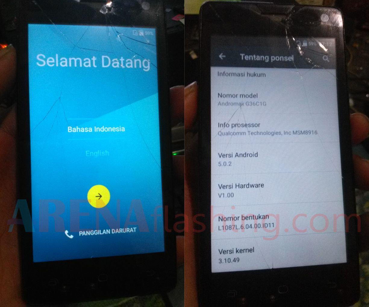 cara flash firmware android tanpa pc