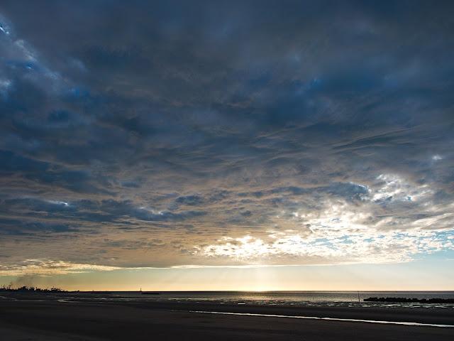 Dünkirchen Wolken Strand Ärmelkanal