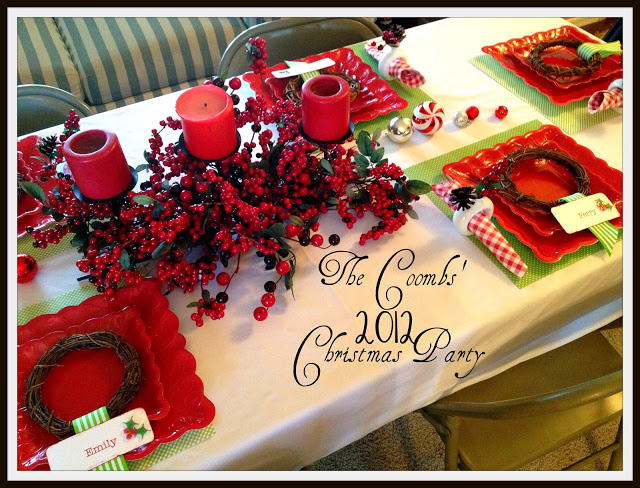 Christmas Dinner Party Ideas.Marci Coombs Christmas Dinner Party Ideas