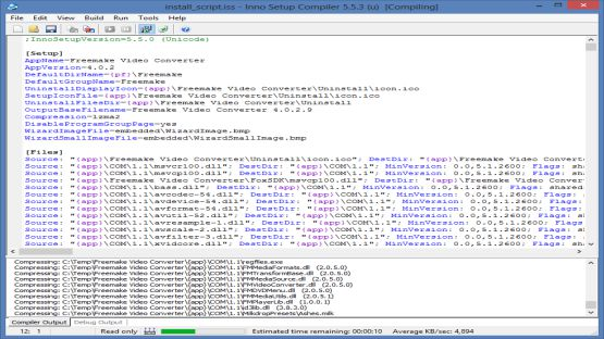 Inno Setup Compiler screenshot 3