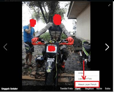 Membagikan tips sosmed pada lingkup internet,dalam cara melihat foto/poto full screen di facebook melalui komputer maupun laptop pribadi,berikut pembahasannya