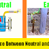 Difference between Earthing and Neutral