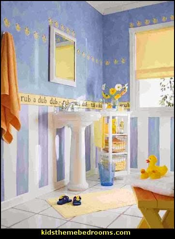 Decorating theme bedrooms maries manor rubber duck for Rubber ducky bathroom ideas