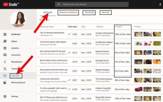 youtube copyright match tool kaise use kare