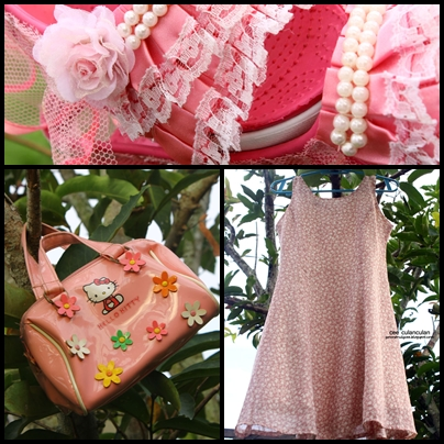 The Hime Gyaru Project: Part 2 (Dress + Bag + Customized Shoes) cee culanculan