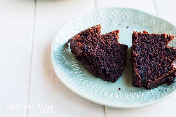 Bundt Cake de Guinness y chocolate