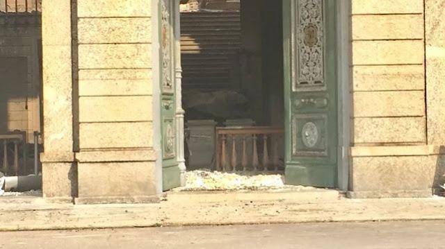 Meteorito Bendegó resistiu ao incendio no Museu Nacional