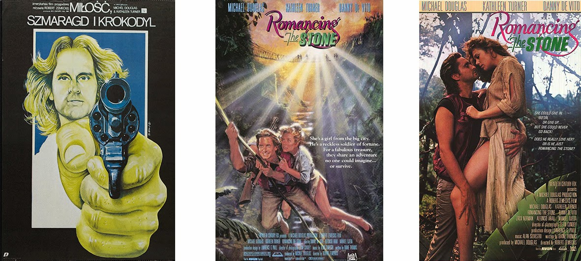 Romancing the Stone - Miłość, szmaragd i krokodyl (1984)
