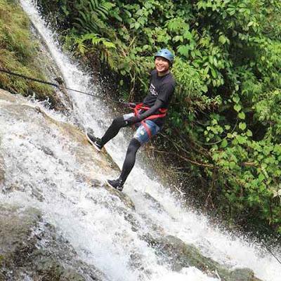 Lokasi Curug Lembah Pelangi Bogor Jawa Barat