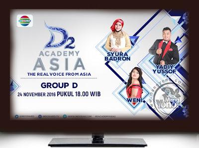 Yang Tersenggol : D'Academy Asia 2 ( DAA 2) Grup D Babak 18 Besar