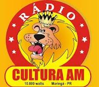 Rádio Cultura AM de Maringá PR ao vivo