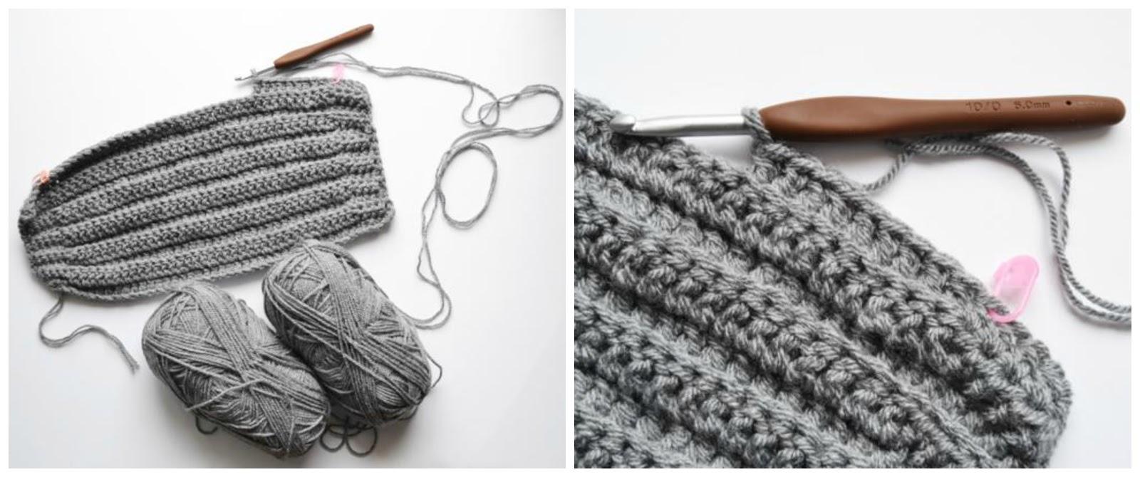 Tutorial how to make a beanie ( US crochet terms ) Start  chain 45 5hdc a9f236e66c6d