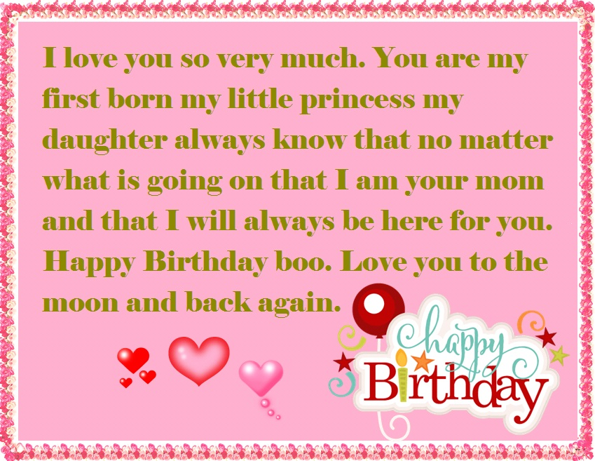 Best Birthday Wishes For My Little Daughter idea gallery