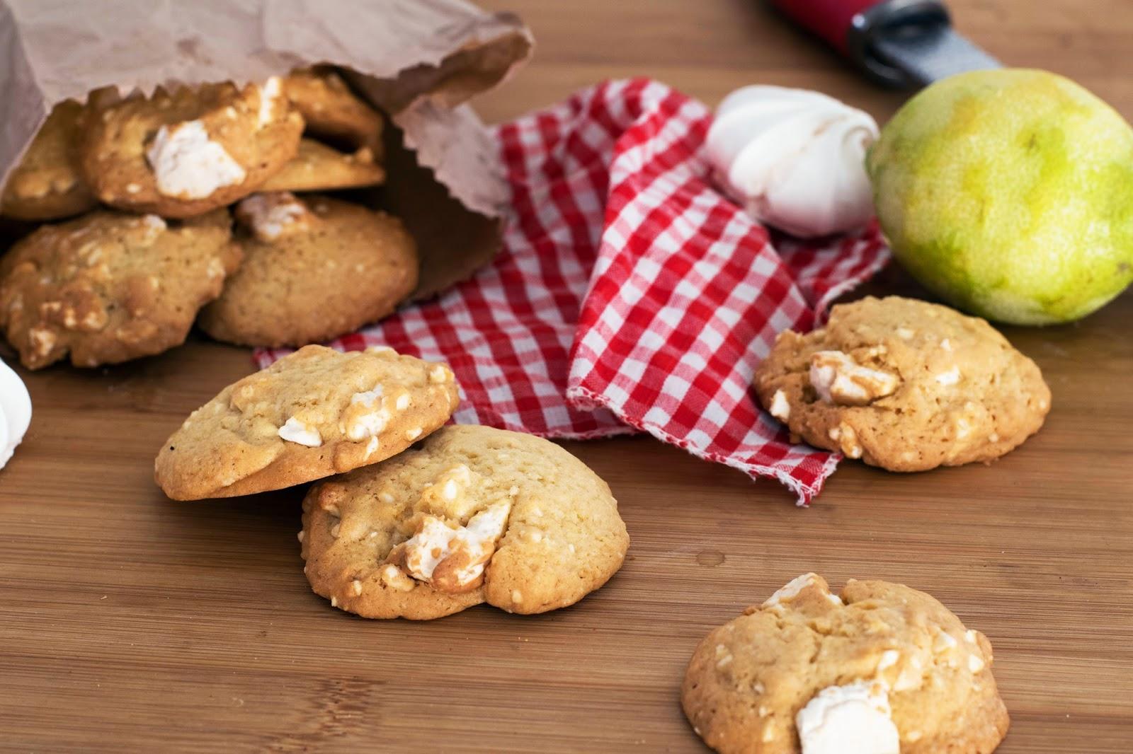 recette Cookies citron meringue