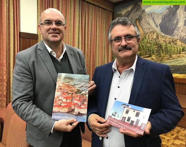 El Cabildo promociona en dos publicaciones la labor del Centro de Conservación y Restauración del Documento Gráfico