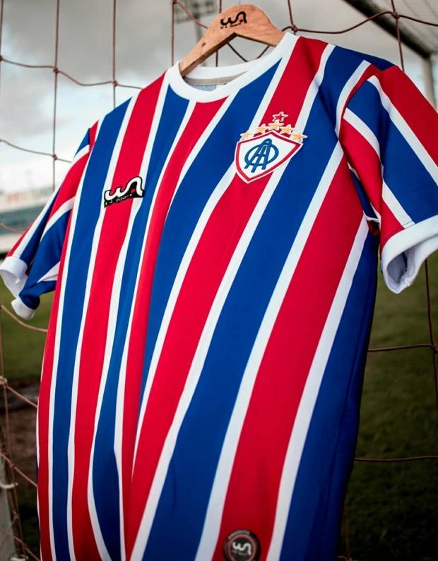 375a5b37c A fabricante de material esportivo WA Sport divulgou os novos uniformes que  a Associação Olímpica de Itabaiana usará na Campeonato Sergipano e no  restante ...