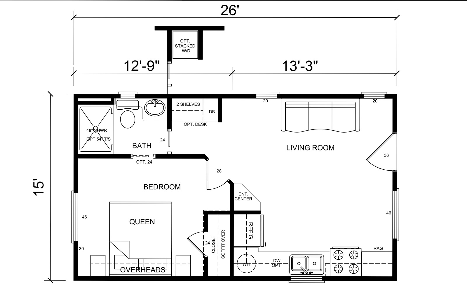 12x40 mobile home floor plans for Mobile home designs floor plans