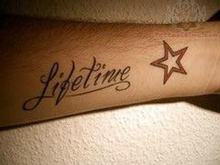tato tulisan angel