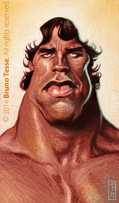 Arnold Schwarzenegger por Bruno Tesse