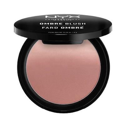 Colorete Ombre Blush de Nyx Cosmetics en el tono Mauve me