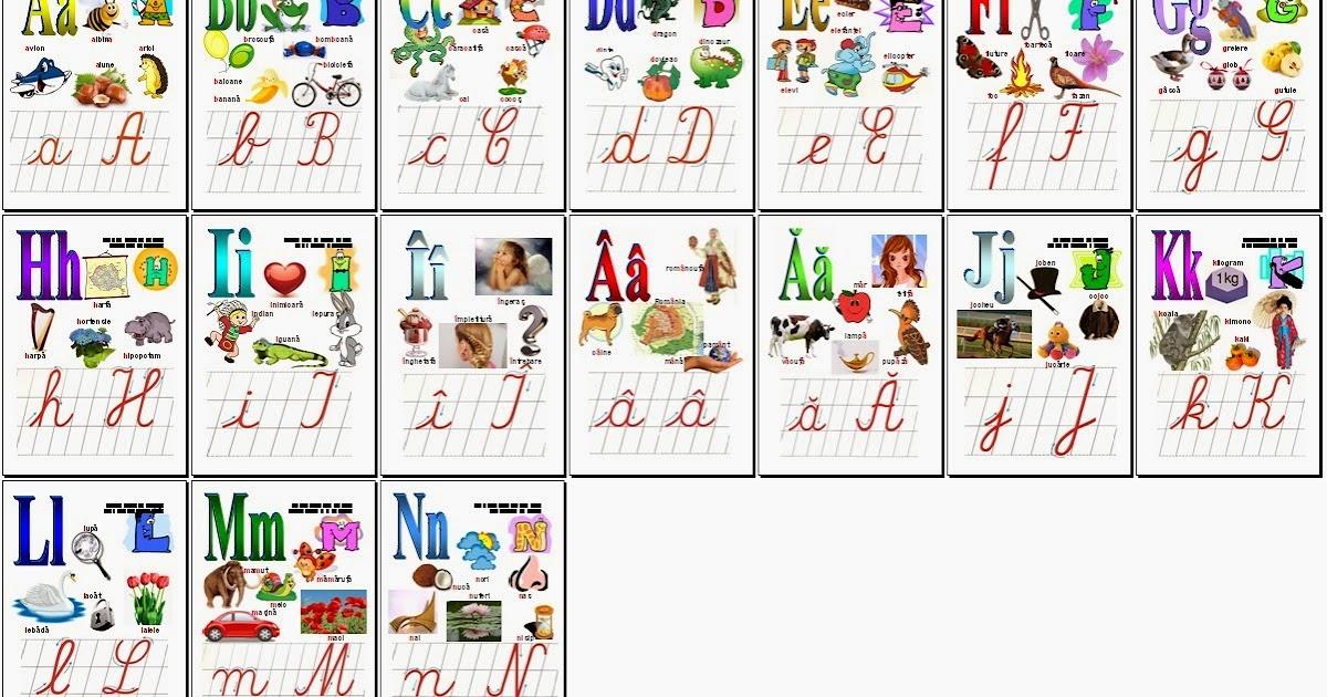 alfabetul datând începând cu a