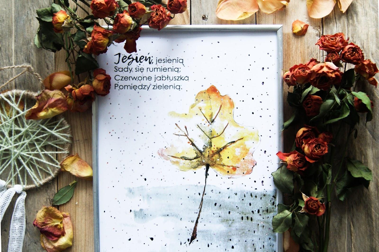 Plakaty na jesień 2017 - do druku