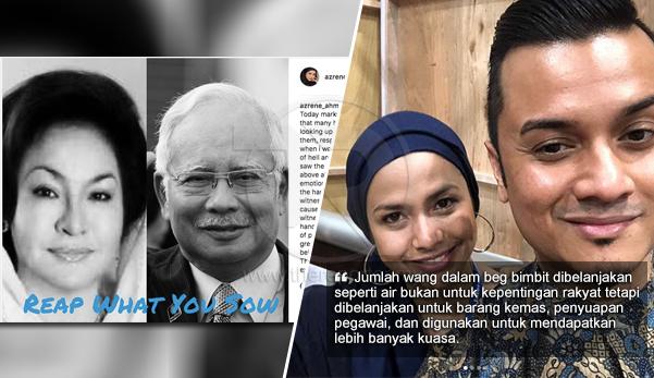 'Saya menyaksikan banyak kesalahan dibuat mereka, wang dibelanja seperti air bukan untuk kepentingan rakyat' - Anak Rosmah dedah derita hidup yang ditanggung selama ini