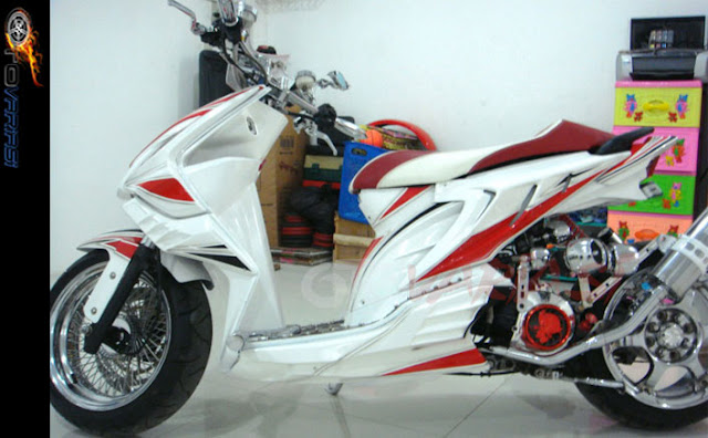 gambar modifikasi honda beat thailook