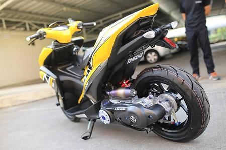 Modifikasi Yamaha Aerox terbaru
