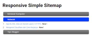 Kumpulan Script Sitemap Blogger Terbaik