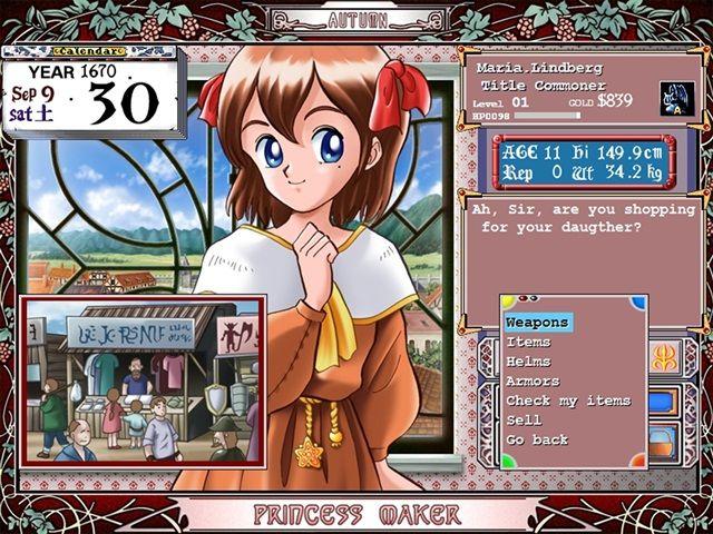 Princess Maker Refine PC Full
