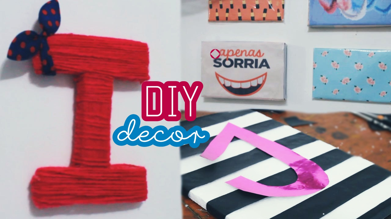 decoração, dicas, diy, faça você mesmo, decor quarto, decoração barata, decorando o quarto,gastando pouco, letra decorativa,quadros decorativos, decorando parede em branco, diy isopor