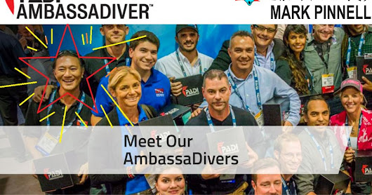 The Dive Bus Mark becomes Curacao's first PADI Ambassadiver!