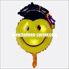 Balon Foil Graduation Smile Mini