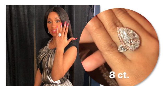 Is Cardi B Engaged To Offset From Migos: Ring, 8 Carat Diamond, Top 10 Moments