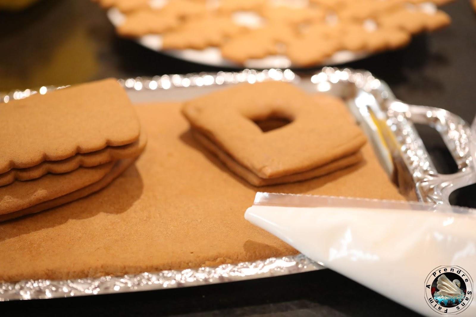 Maison en pain d'épices bonbons (pas à pas en photos)