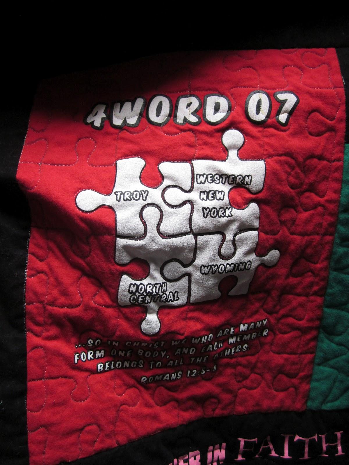 T Shirt Quilt Problems