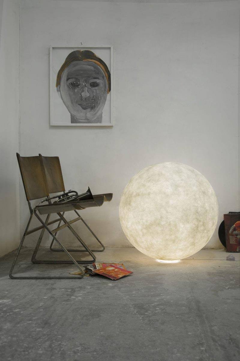 lampada da terra Luna In-es.artdesign