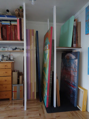 simple, elegant and strong painting rack