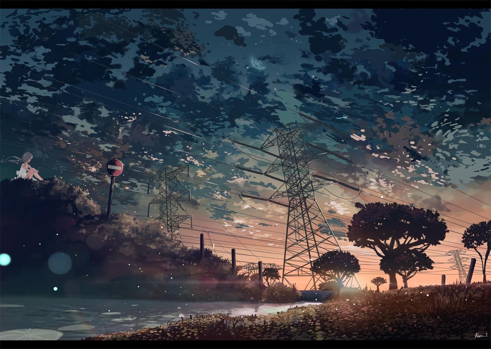 Beautiful Landscape Anime Wallpaper